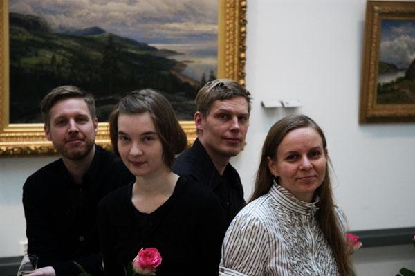 Kürzlich wurden die Stipendien des Turkuer Kunstvereins vergeben.