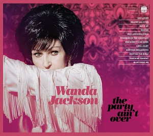 Cd-Cover: Wanda Jackson - The Party Ain't over