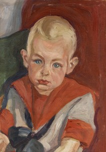 Max Ernst - Knabenbildnis 1912-13