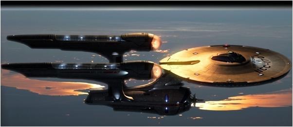 USS Enterprise - © Gabriel Koerner, deviantART